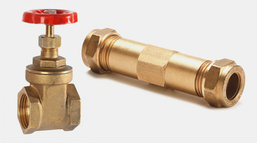Brass Pipe Fittings and Brassware / Stop Cocks, Brass Valves and more