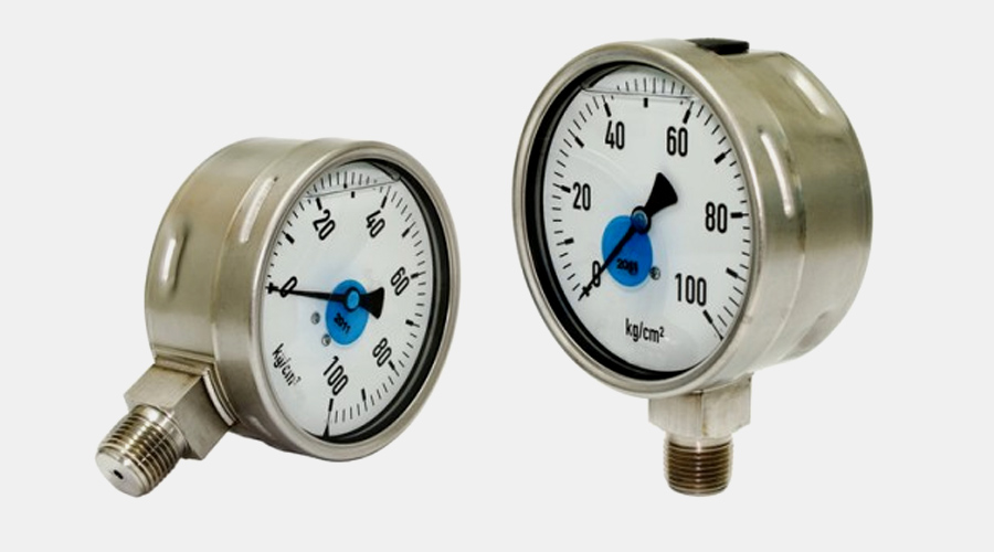 Gauges, Thermometers & Standard / Stainless Steel Gauges calibrated upon request