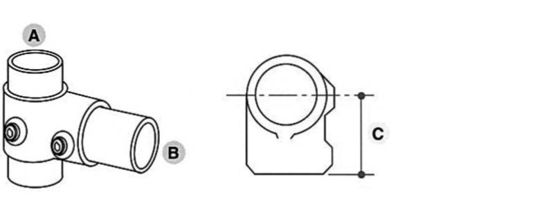 Tube Clamp Short Tee 101