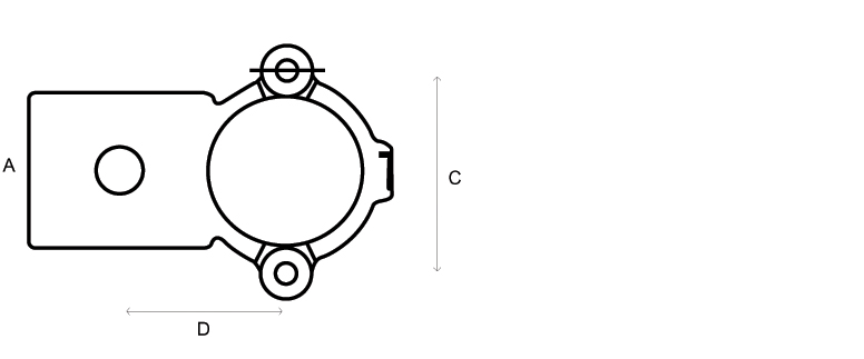 Tube Clamp 90 Degree Crossover 137-4