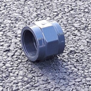PVC Plain Threaded Socket