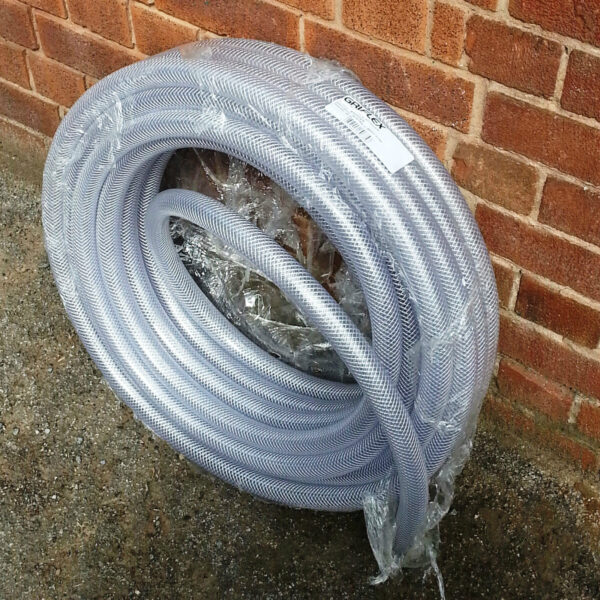 Clear Reinforced Braided Hose