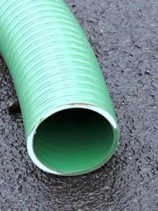 Green PVC Suction & Delivery Hose - Medium Duty - Reinforced