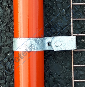 Single Sided Mesh Panel Clip