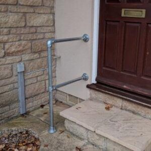 Outdoor Step Handrail Kit