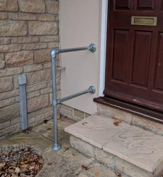 Outdoor Step Handrail Kit