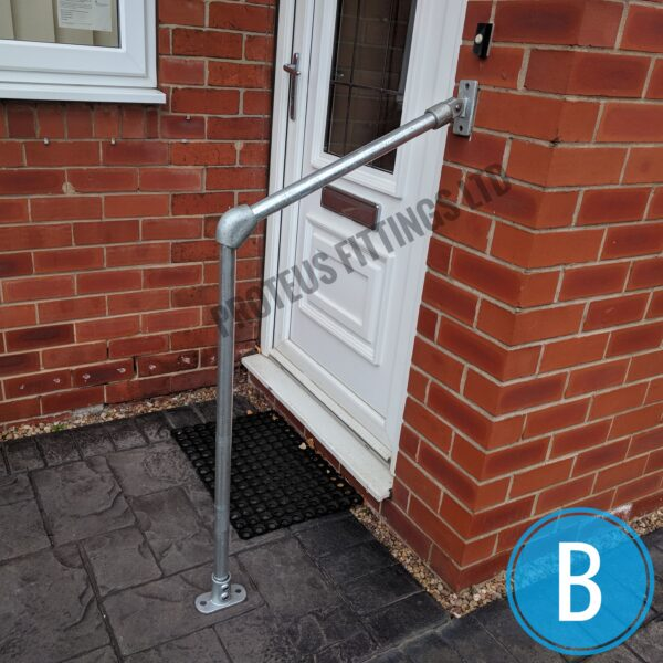 Safety Grab Rail Variable Angle B