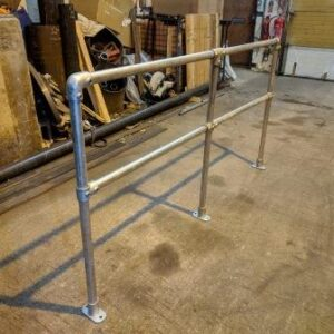 Galvanised Safety Barrier
