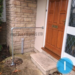 Outdoor Step Handrail Kit 1.1m High