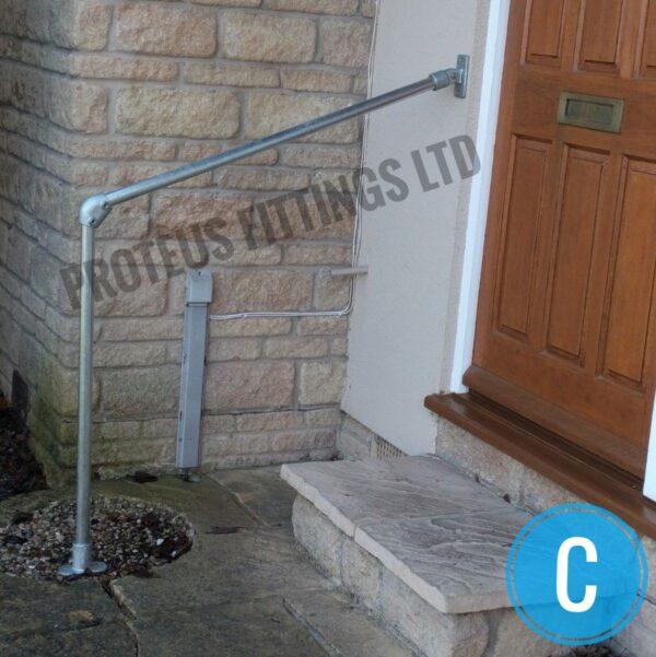 Safety Grab Rail Adjustable Angle -C